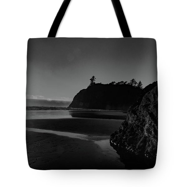 Sunset At Ruby Beach Tote Bag