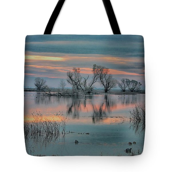Sunset At San Luis   Tote Bag