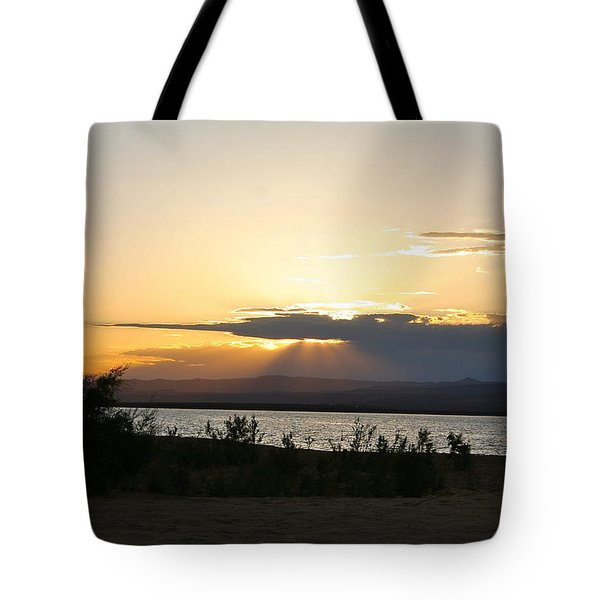 Sunset At Sand Hollow Beach Tote Bag