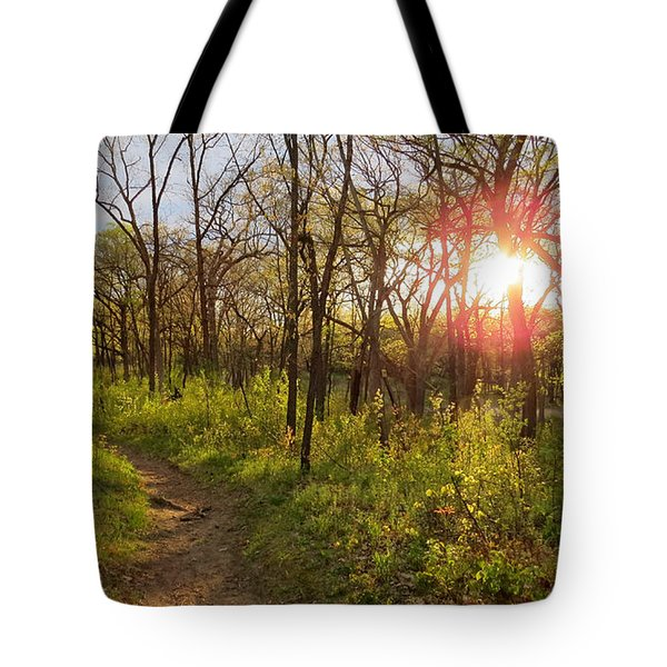 Tote Bag featuring the photograph Sunset At Scuppernong by Kimberly Mackowski