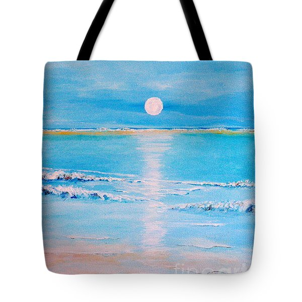 Sunset At The Beach Tote Bag by Teresa Wegrzyn
