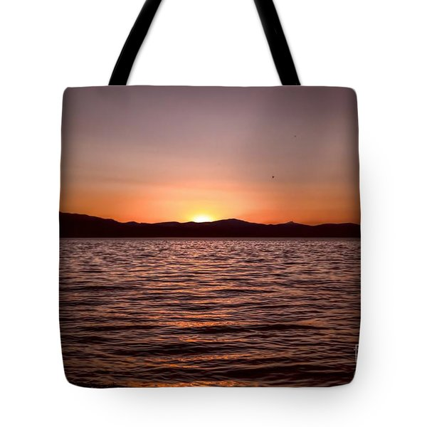 Sunset At The Lake 2 Tote Bag