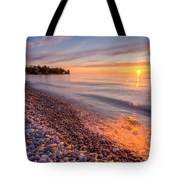 Sunset At The Loop  Tote Bag