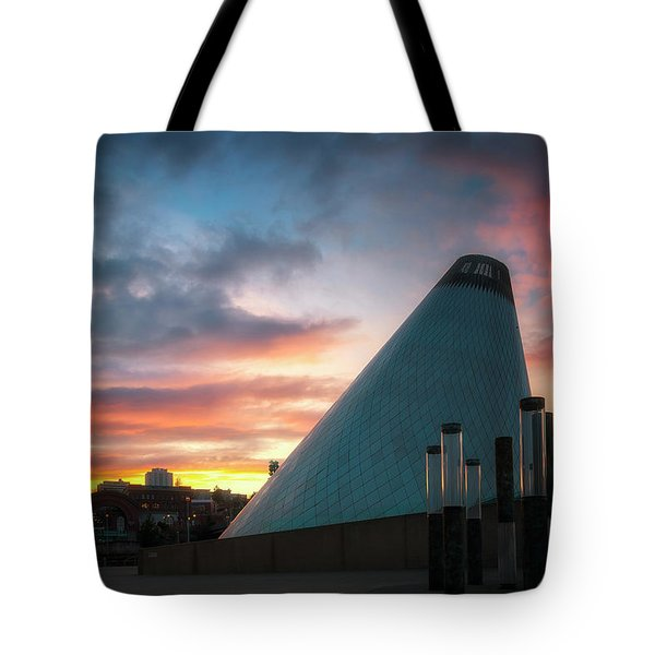Sunset At The Museum Of Glass Tote Bag