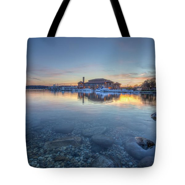 Sunset At The Riviera Tote Bag