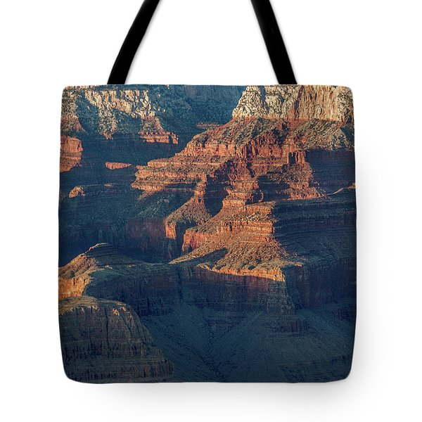 Sunset At The South Rim, Grand Canyon Tote Bag