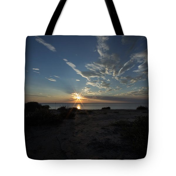 Sunset At Torrey Pines Tote Bag