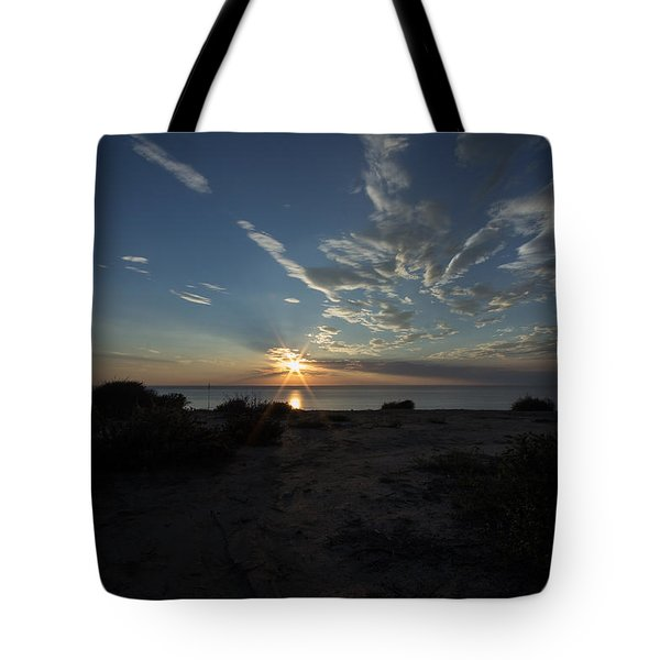 Sunset At Torrey Pines Tote Bag
