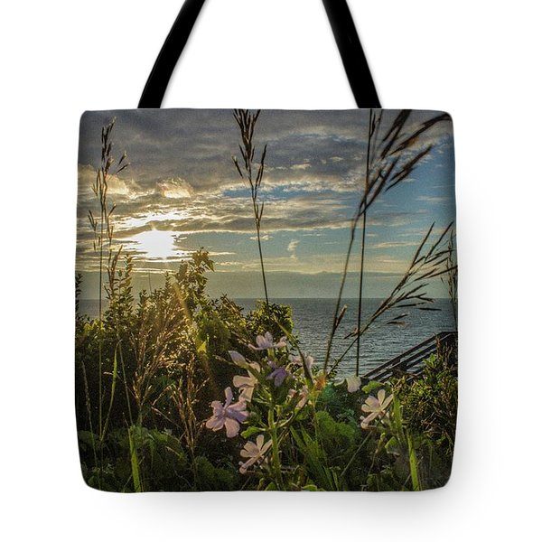 Sunset At Tunnel Dunes Tote Bag