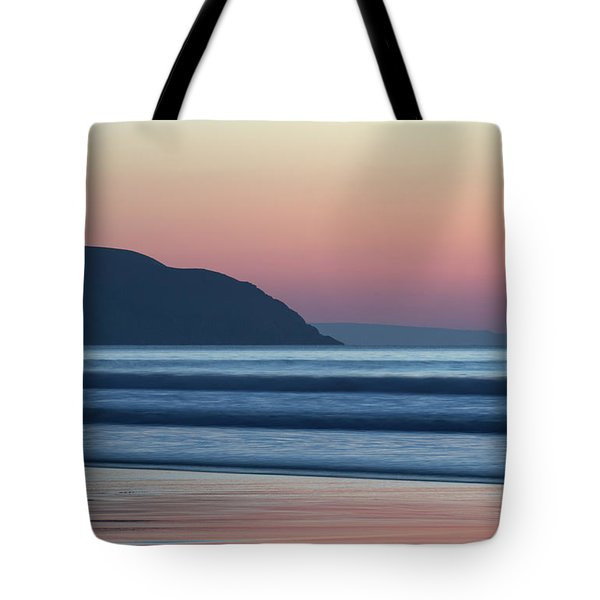 Sunset At Woolacombe Tote Bag