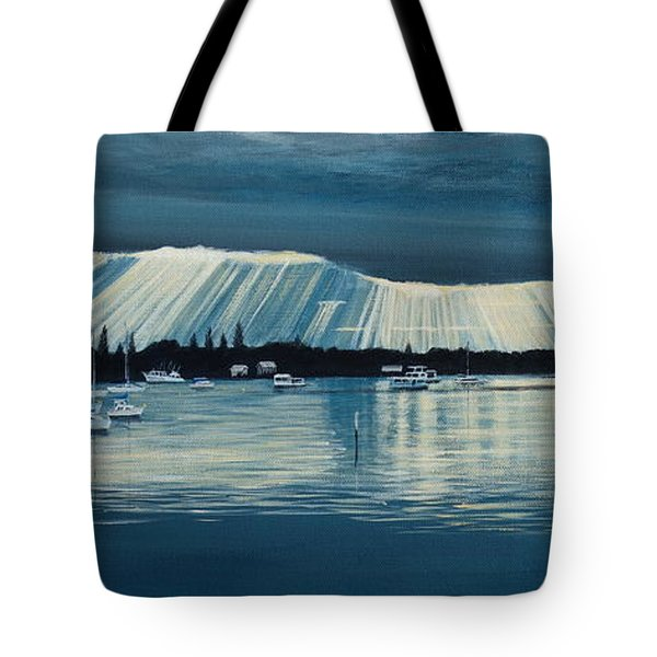 Sunset At Yamba Nsw Tote Bag