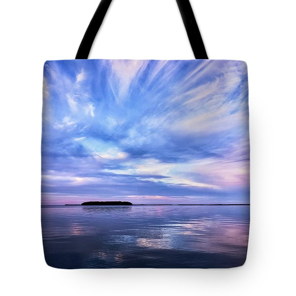 Sunset Awe  Signed Tote Bag