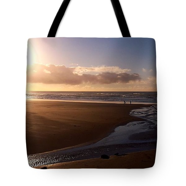 Sunset - Bastendorff Beach Tote Bag
