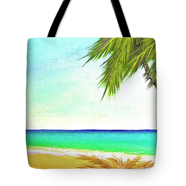 Sunset Beach #373 Tote Bag by Donald k Hall