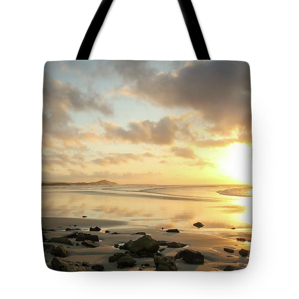 Sunset Beach Delight Tote Bag