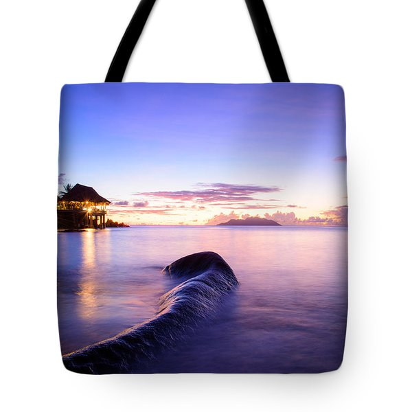 Sunset Beach Sunset Tote Bag