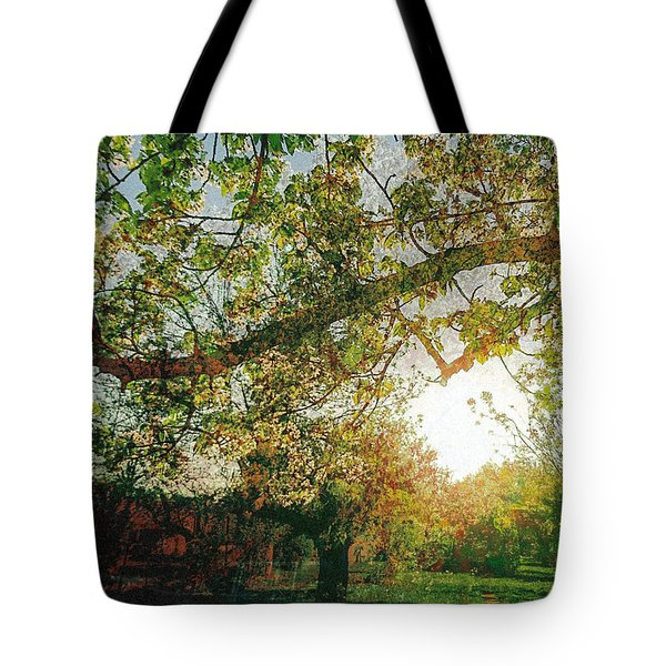 Tote Bag featuring the photograph Sunset  by Bee-Bee Deigner