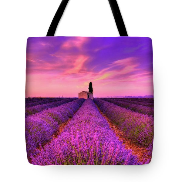 Sunset Blues Tote Bag by Midori Chan