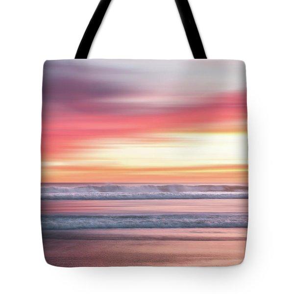 Sunset Blur - Pink Tote Bag