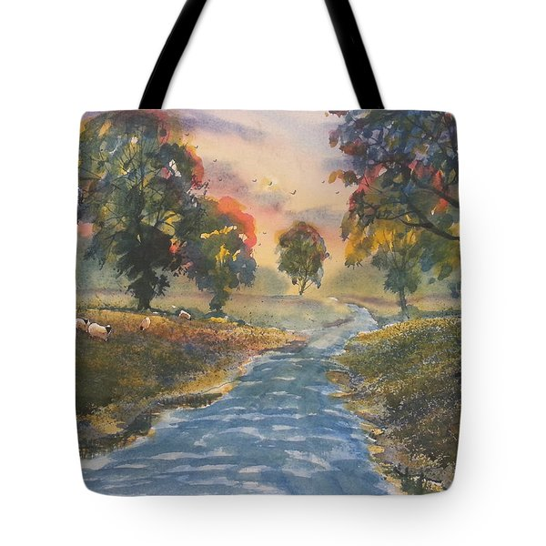 Sunset Boulevard Tote Bag