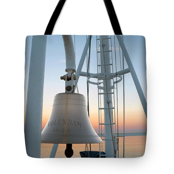 Sunset Bow Tote Bag