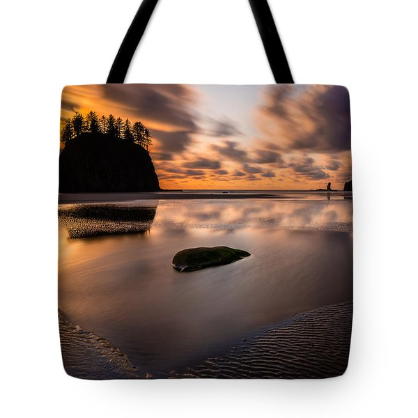 Sunset Breeze Tranquility Tote Bag