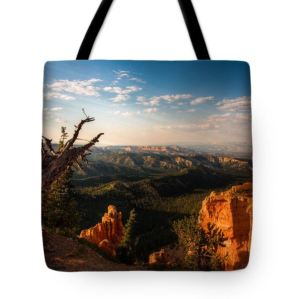 Tote Bag featuring the photograph Sunset Bryce by Rebecca Hiatt