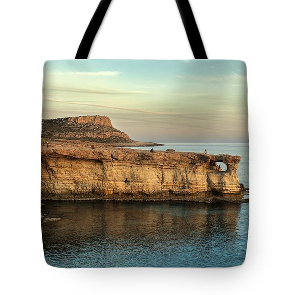 Sunset By The Cape Tote Bag