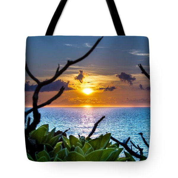 Sunset By The Point Tote Bag