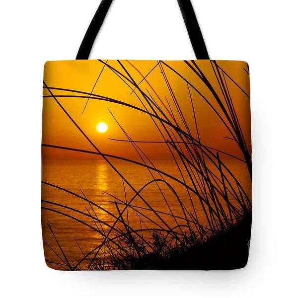 Sunset Tote Bag by Carlos Caetano