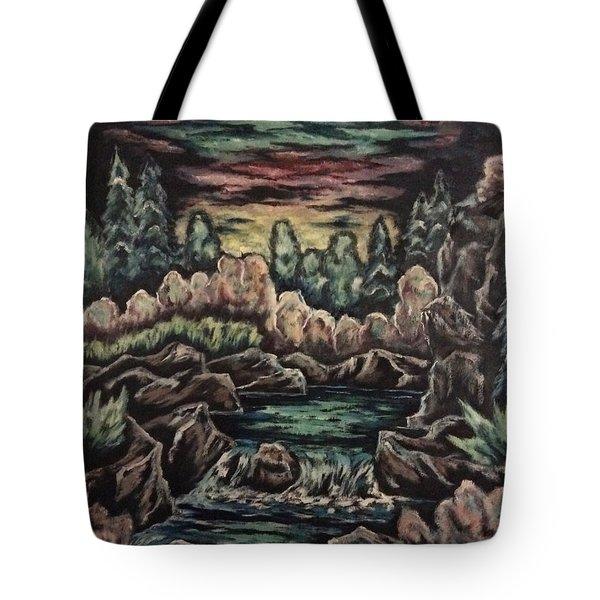 Sunset Tote Bag by Cheryl Pettigrew