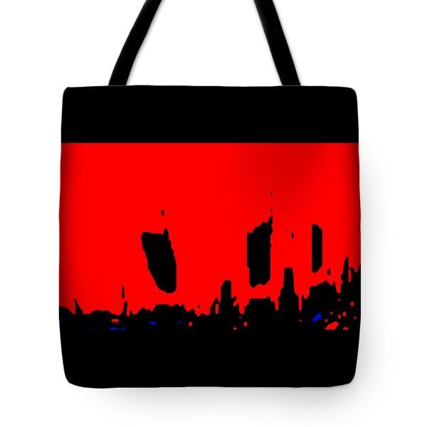 Sunset City Tote Bag