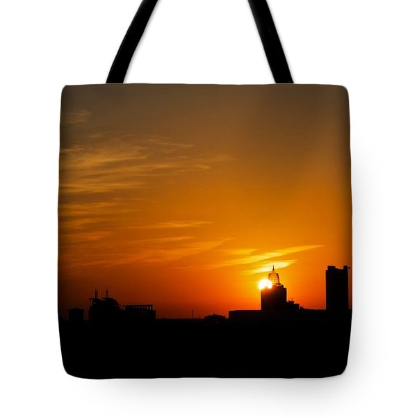 Sunset City Tote Bag