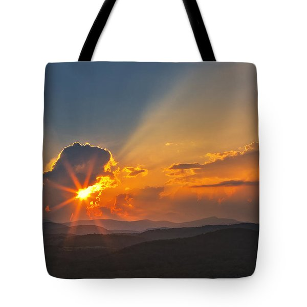 Sunset - Close Another Day Tote Bag