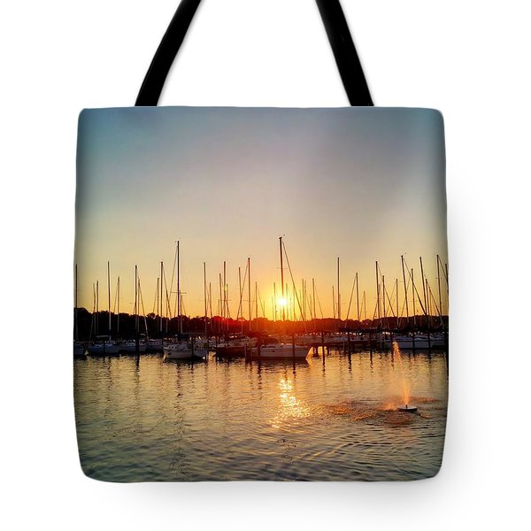 Sunset Cove 2015 Tote Bag