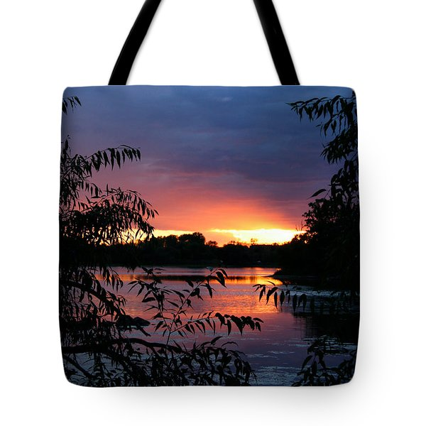 Sunset Cove Tote Bag
