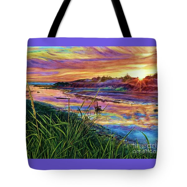Sunset Creation Tote Bag