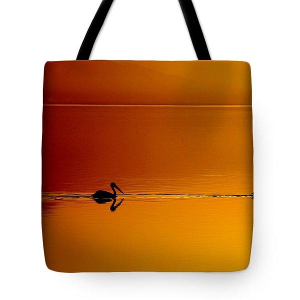 Sunset Cruising Tote Bag