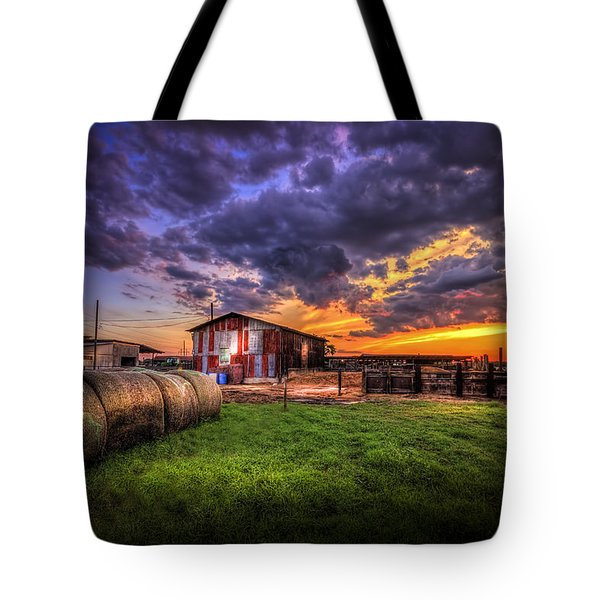 Sunset Dairy Tote Bag