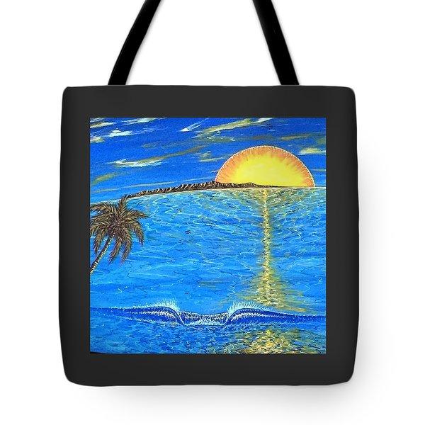 Sunset Dream Tote Bag