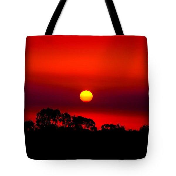 Sunset Dreaming Tote Bag