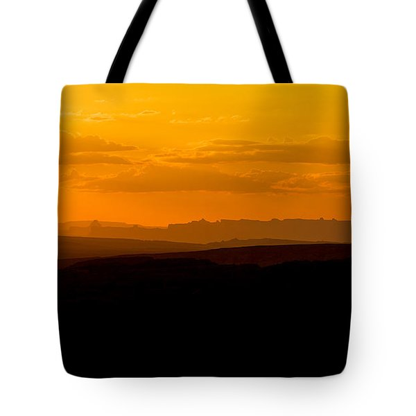 Tote Bag featuring the photograph Sunset by Evgeny Vasenev