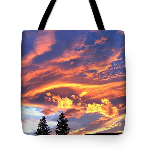 Sunset Extravaganza Tote Bag by Will Borden
