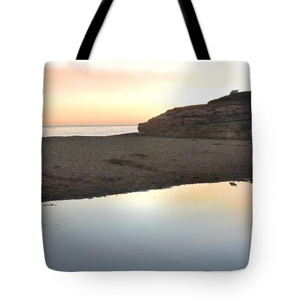Sunset Family Tote Bag