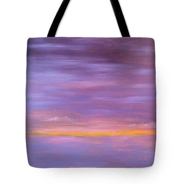 Golden Sunset Tote Bag