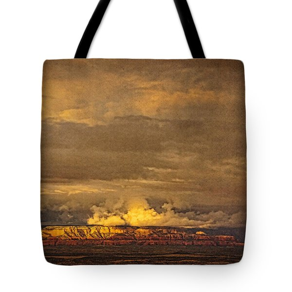 Sunset From Above A Tote Bag