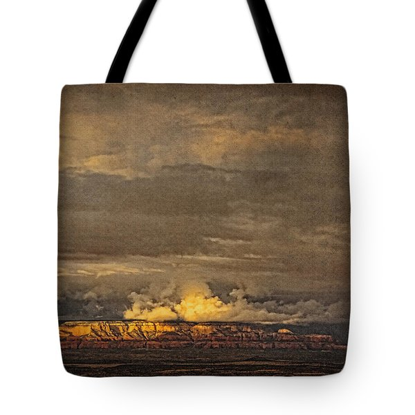 Sunset From Above B Tote Bag