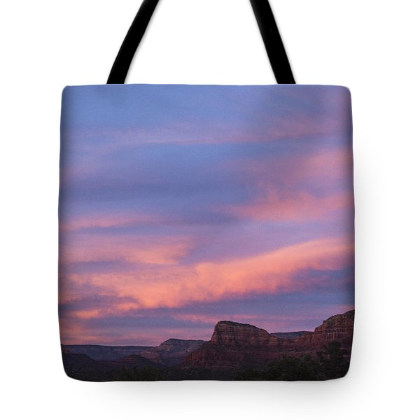 Sunset From Bell Rock Trail Tote Bag