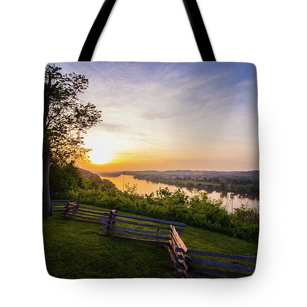 Sunset From Boreman Park Tote Bag