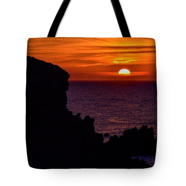 Sunset From Costa Paradiso Tote Bag